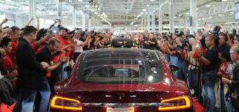 Tesla Stock Closes Just Under $200