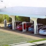 Tesla Patents Advanced Multi-Charging Station