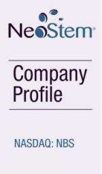 NeoStem Comnpany Profile
