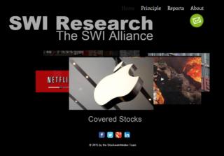 SWI Homepage