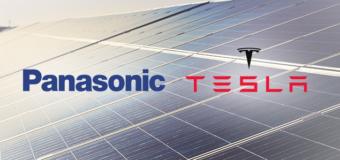 Tesla and Panasonic team up on solar-panel cells